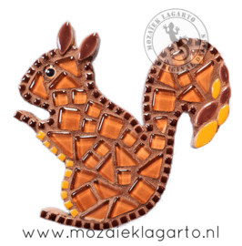 Mozaiekpakket 8 Magneet Eekhoorn
