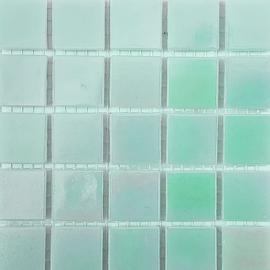 Parelgroen Parelmoer 2 x 2 cm per 25 tegels