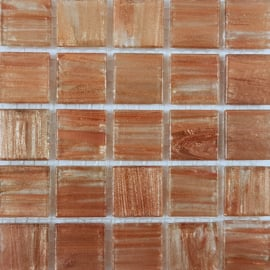 Goudader glastegels Koper per 25 tegels 003