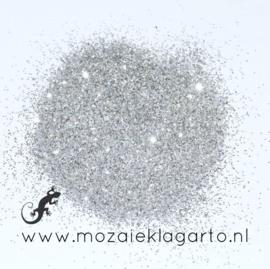 Glitterpoeder Zilver voor voegmiddel per 50 gram 400