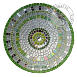 Schaal Groen/Zilver