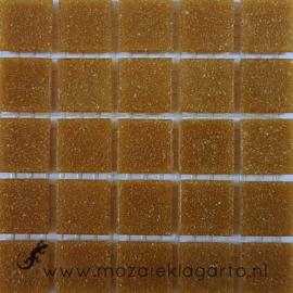 Basis glastegels Midden Bruin per 25 tegels 034