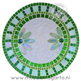 Mozaiekpakket 9 Schaal Corso  Groen/Wit