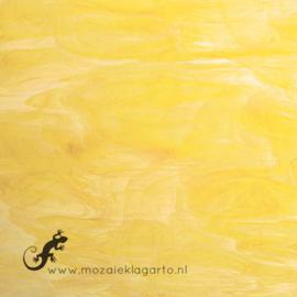 Glasplaat 20 x 20 cm Lichtgeel Semi Translucent  SO365-1st