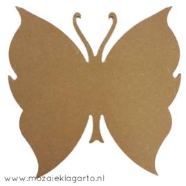 Ondergrond voor mozaiek  MDF Vlinder 195