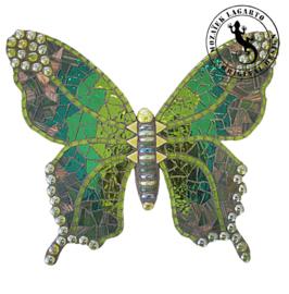 Mozaiekpakket 31 Vlinder Lucente Groen