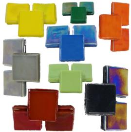 Mozaiek Glas tegels 15 mm