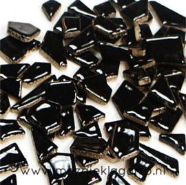 Keramiek Puzzelstukjes per 100 gram Zwart 001