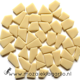 Mozaiek puzzelstukjes Glas 100 gram Creme 092