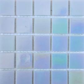 Lichtblauw Parelmoer 2 x 2 cm per 25 tegels