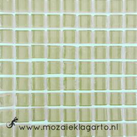 Glastegeltje Murrini Grijs/Beige per 81 tegeltjes 005