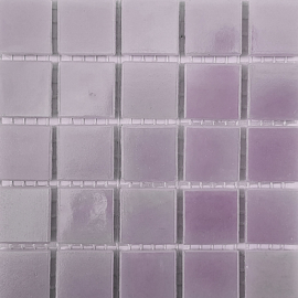 Lila Parelmoer 2 x 2 cm per 25 tegels