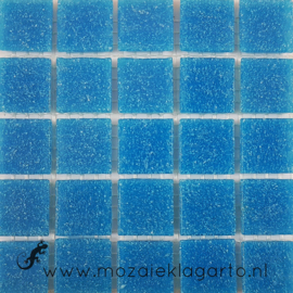 Basis glastegels Turquoise per 25 tegels 014