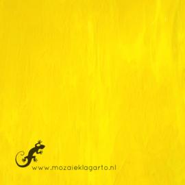 Glasplaat 20 x 20 cm Geel Semi Translucent  Y166 st