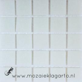 Basis glastegels IJswit per 25 tegels 002