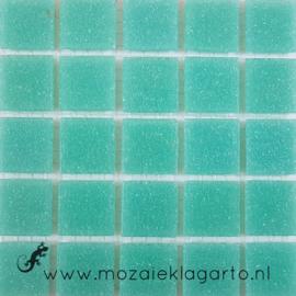 Basis glastegels Licht Zeegroen per 25 tegels 062