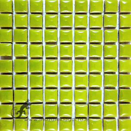Keramiek tegel 10x10 mm per 81 Lichtgroen 013