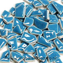 Keramiek Puzzelstukjes per 100 gram Aqua 171