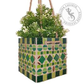 Mozaiekpakket 36 Plantenhanger Kwibus Groen