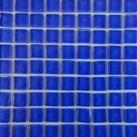 Glastegeltje Murrini Kobalt Blauw per 81 tegeltjes 064