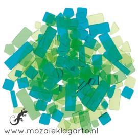 Acryl Mix Mozaiek Groen/Zeegroen 3950