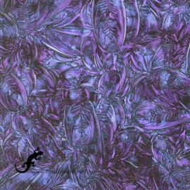 Van Gogh Glas 5 x 15 cm Blauw/Violet 350