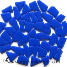 Mozaiek puzzelstukjes Glas 100 gram Briljant Blauw 069