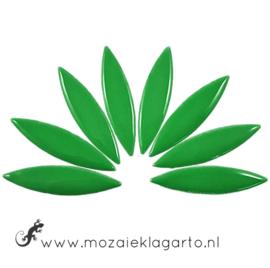Keramiek bloemblaadjes Groot per 8 Groen 141