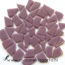 Mozaiek puzzelstukjes Glas 100 gram Lila 053