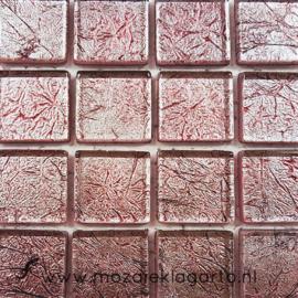 Folie glas per 16 tegels Roze 2340