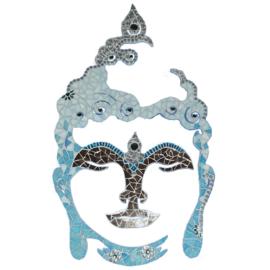 Mozaiekpakket 23 Boeddha 60 cm Aqua