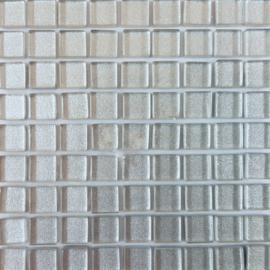 Glastegeltje Murrini Zilver per 81 tegeltjes 038