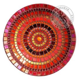 Mozaiekpakket 3 Schaal Cameleon Rood/Oranje