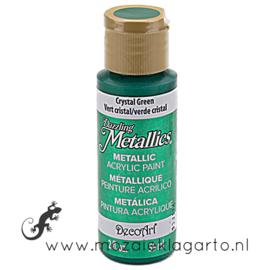 Acrylverf Metallic 59 ml Crystal Green 26895
