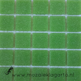 Basis glastegels Bladgroen per 25 tegels 023