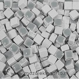 Mini Keramiek tegeltjes 5x5 mm per 15 gram Grijs 002