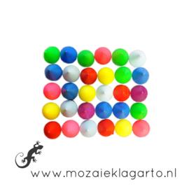 Decoratiesteen kunststof  10x10 mm per ca 30 Multicolor 800