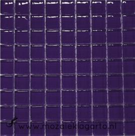 Glastegeltje Murrini Donker Paars per 81 tegeltjes 022