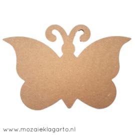 Ondergrond voor mozaiek  MDF Vlinder 238