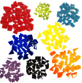 Mozaiek Puzzelstukjes Glas