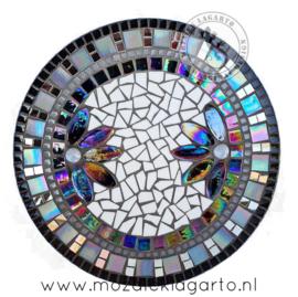 Mozaiekpakket 9 Schaal Corso Zwart/Wit