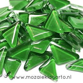 Mozaiek puzzelstukjes Soft Glas 100 gram Groen 181