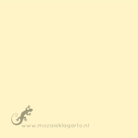 Geglazuurde mozaiektegel Mosa 15 x 15 cm Pastel Yellow 18960
