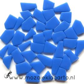 Mozaiek puzzelstukjes Glas 100 gram Blauw 066
