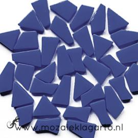Mozaiek puzzelstukjes Glas 100 gram Donkerblauw 71