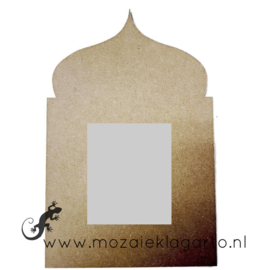 Ondergrond voor mozaiek MDF Oosterse Spiegel 9001