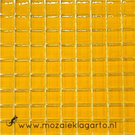 Glastegeltje Murrini Warm Geel per 81 tegeltjes 004