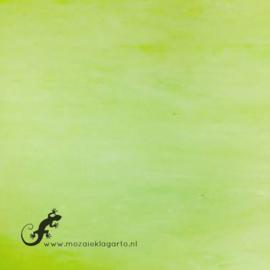 Glasplaat 19 x 20 cm Pastelgroen Semi Translucent Y081st