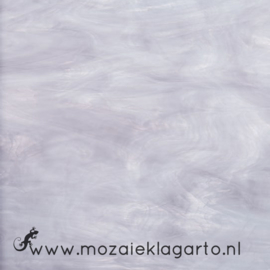 Glasplaat 20 x 20 cm Semi Translucent  Lavendel/Wit SO843-71st
