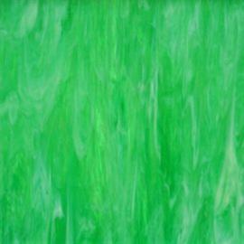 Glasplaat 20 x 20 cm Semi Translucent Groen/Wit Y098st